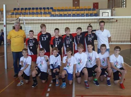 Turniej mini siatkówki w Garwolinie